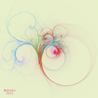 Floral Smoke by Adrolyn