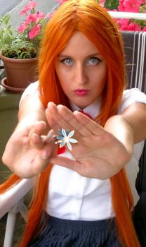 Orihime Cosplay Tryouts 10 by aquamarinesong