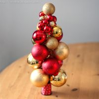 DIY Christmas Ornament Tree by Arctida
