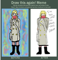 Draw This Again Meme by o-Raven-Cat-o