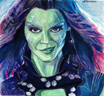 Gamora by Lariethene