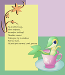 I'm a Little Snivy by QuietCrystal