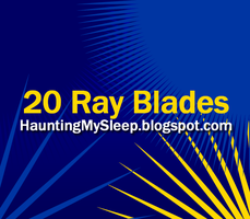 20 Ray Blades by Killa-Cary