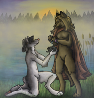 commission: aniwaya naming ceremony by 00129