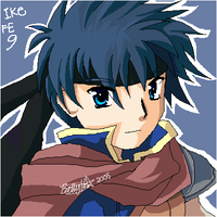Fire Emblem- Ike by BettyKwong