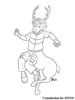 COM : Ash into Reindeer SKETCH by whiteguardian