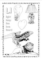 alphabet coloring pages Ll copy by jbeverlygreene