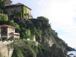 Italian Villa with Coastline by d3fkt