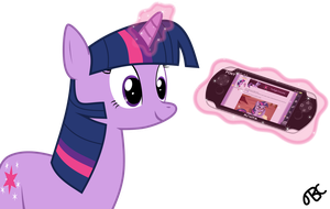 Twilight Sparkle vs. PONY Vita by TBCroco