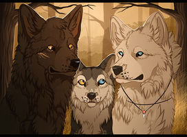 The Family Portrait by MapleSpyder