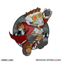 Stario Lord (digital colors) by thesometimers
