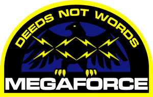 Megaforce Hat Patch Insignia by viperaviator