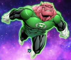 Kilowog by Green/BdStevens colored by Dany-Morales