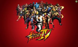StreetFighterIV Wallpaper 16:9 by dsx100