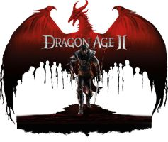 Dragon Age II Logo by Requium-for-Kira