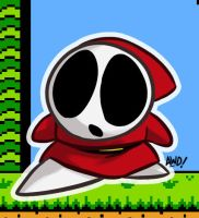 SMB2 - Shy Guy by AndrewDickman