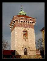The Old Fortifications Of Cracow - Florian's Gate by skarzynscy