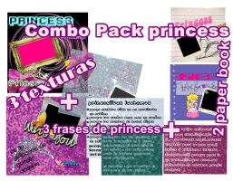 Texturas pack princess by ButterflyEditions