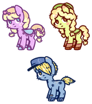 Pony Adoptables - CLOSED by Reporter-Derpy