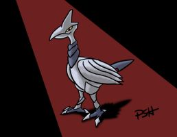 POKEDDEX Day 9: Skarmory by Psh07