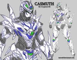 Casmuth the main character of Re-Cryption by mavos9