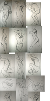 Drawing Boot Camp Gesture Drawings by 60-Six