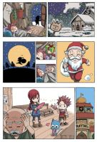 fairy tail christmas by sakurayuukisuki