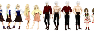 Mirage Noir - Prologue Sprite Variations by Noire-Ighaan