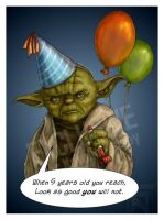 No Cake for Yoda? by DarthFar