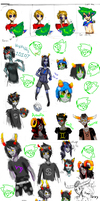 HOMESTUCK DUMP by Zampayina