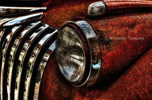 Old Rusty  Fire Truck by teresastreasures72