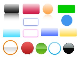 Web 2.0 Graphics: buttons by tycity