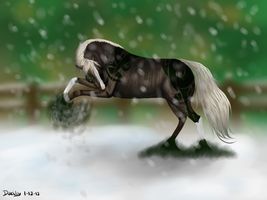 It's snow time! by Lumicenta