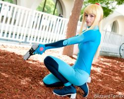 F11 - Zero-Suit Samus by BlizzardTerrak