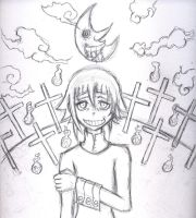 Crona - Sketch by HyruleMaster