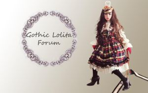 gothic lolita wallpaper 3 by guillaumes2