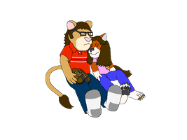 Katie and I Nap (No Shading) New Shirt by KBAFourthtime