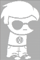 Dave Strider text thingy by BossKdin