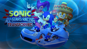 Sonic and All-stars racing transformed Background by infersaime