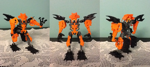 Hero Factory MOC: Leo Ripper by Terry93