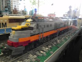 Lego Milwaukee Road DL109 by omega-steam