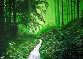 Green Forest by ABastinStar