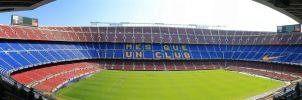 Camp Nou, Barcelona by gunkl