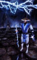 MK4 Raiden - Mortal Kombat Tribute by aemiliuslives