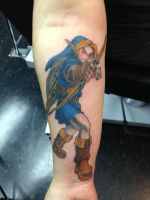 Link Tattoo by Jaymzeecat