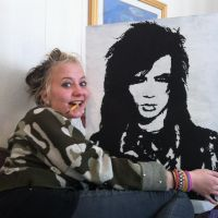 Andy Biersack Painting by ingvildk95