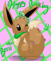 Happy Burfday Berii by FENNEKlNS