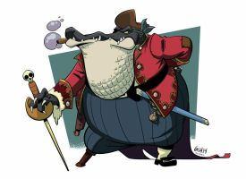 Captain Jaques Lacoste by Monkey-Cosio