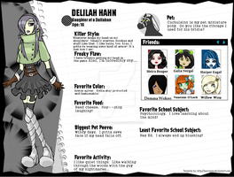 Delilah Hahn Profile by Blue-and-Dog