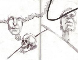 Skull and Face by finkgraphics